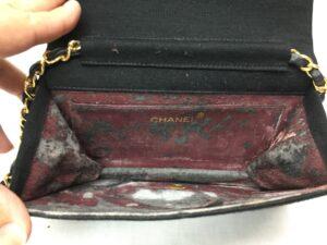 CHANEL シャネルチェーンバッグ内張り交換