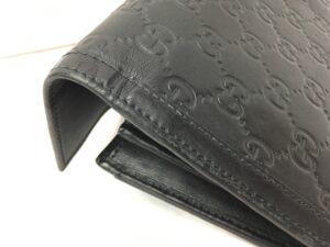 GUCCI グッチ財布 擦れ、剥げ修理 染め直し
