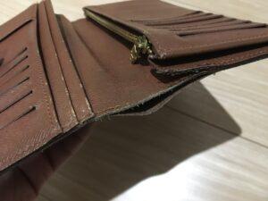 Louis Vuitton ヴィトン財布 ほつれ縫い直し