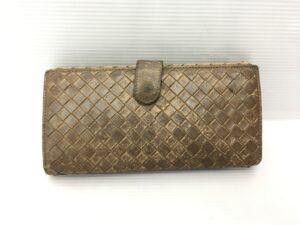 BOTTEGA VENETA ボッテガ財布 全体擦れ、傷、剥げ修理 染め直し