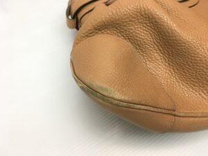 Ferragamo フェラガモ バッグ 擦れ、剥げ修理 染め直し