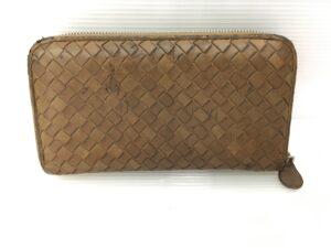 BOTTEGA VENETA ボッテガ財布 全体擦れ、フチ破れ修理