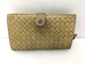 BOTTEGA VENETA ボッテガ財布 全体擦れ、黒ずみ、染み 染め直し修理