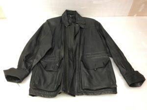 【コート修理】レザーコート 全体補修染め直し修理