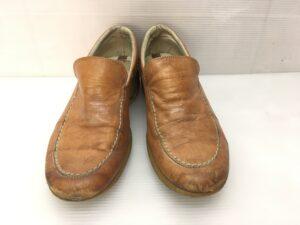 【靴修理】革靴全体 擦れ、小傷 染め直し修理